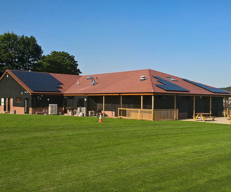 Cricket Club solar pv