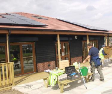 cricket Club solar pv 2